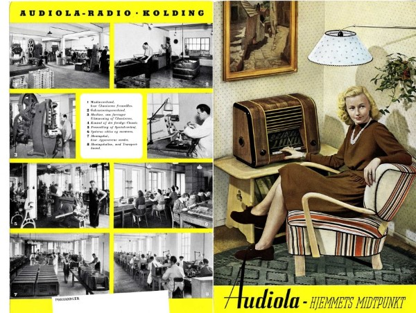 Danish Audiola Radio ad